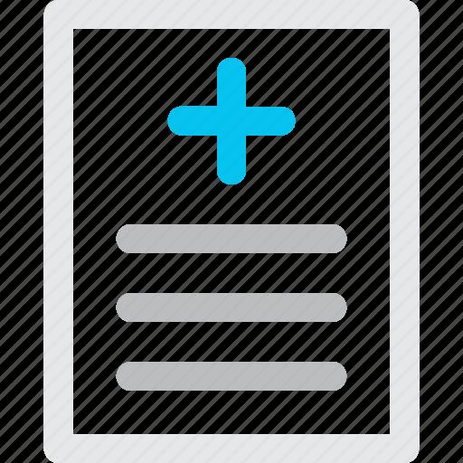 medical, report icon icon