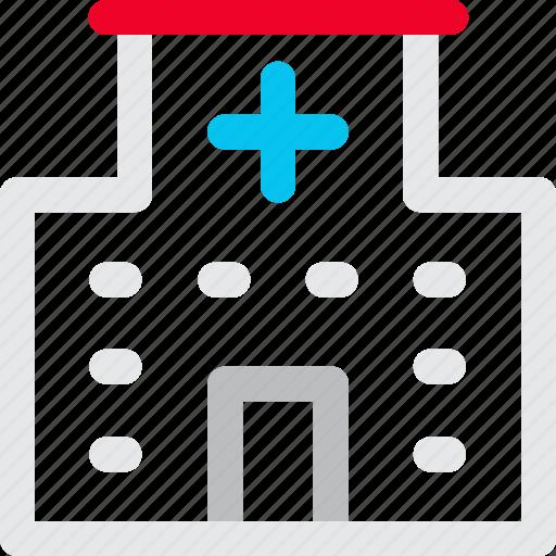 Hospital icon - Download on Iconfinder on Iconfinder