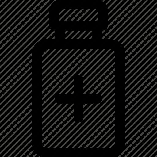 bottle, medicine, pills, prescription icon icon