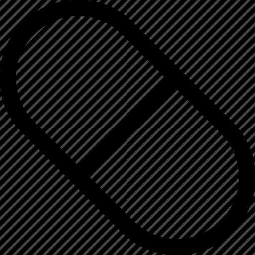 capsule, medicine, pills icon icon