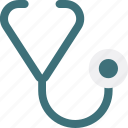 diagnosis, healthcare, stethoscope icon icon