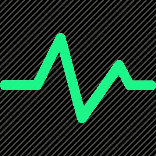 heartbeat, monitor icon icon