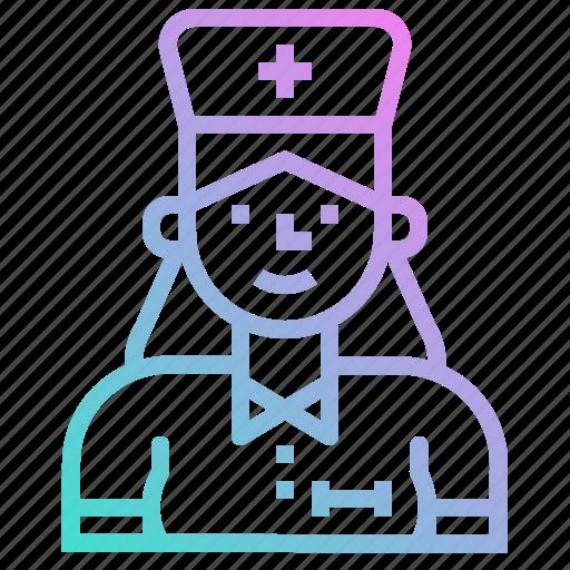 avatar, hospital, medical, medicine, nurse icon