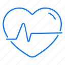 beat, ecg, heart, rate icon