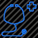 doctor, medical, sethtoscope icon