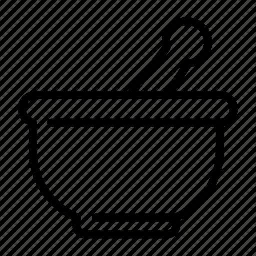 bowl, ingredients, medical, pharmacy icon