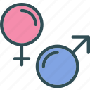 female, health, male, medical, sign icon