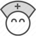 assistent, doctor, health, male, medic, medical, nurse icon