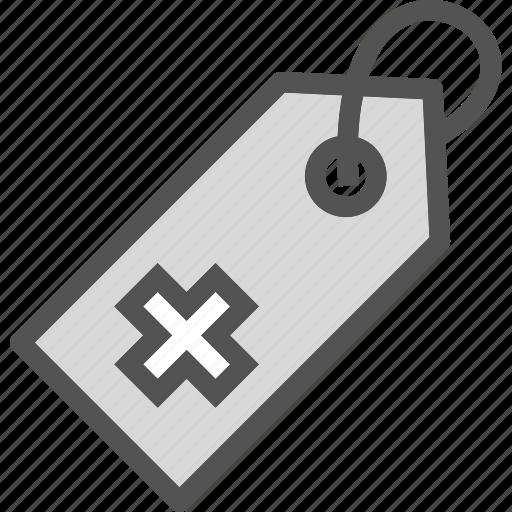 health, medical, tag icon
