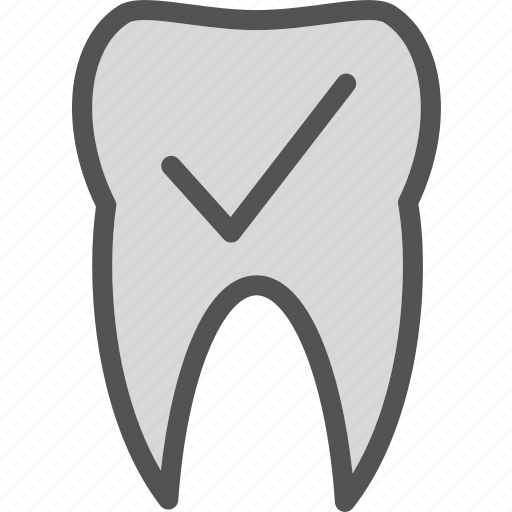 checkok, dentist, doctor, medic, tooth icon