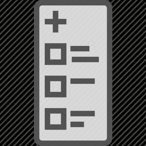 checklist, health, medical icon