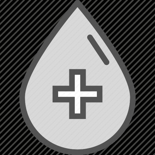 blood, crossdroplet, health, medical icon