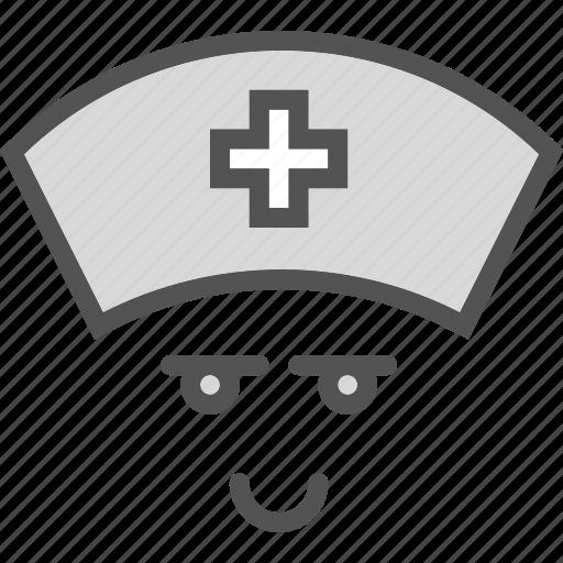 assistent, avatar, doctor, medic, nurse icon