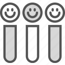 smiley, test, tubes icon