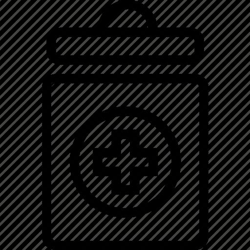 health, jar, medical, meds, treatment icon