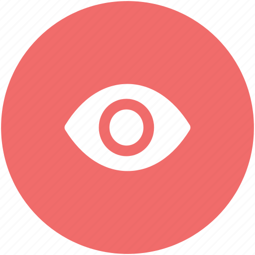 eye, human eye, ophthalmologists, optometrists, view, visible, vision icon