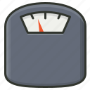 machine, measure, weighing scales, weight icon