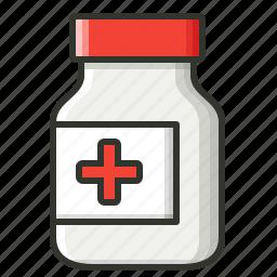 drug, healthcare, medical, medicine, syrup, syrup bottle icon