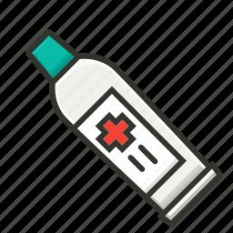 cream, gel, health, medical, medical paste, medicine, ointment icon