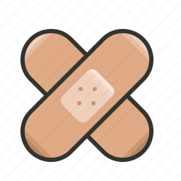 aid, bandage, bandaid, healthcare, injury, medical, plaster icon