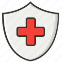 healthcare, healthy, insurance, medical, medical aid, protection icon