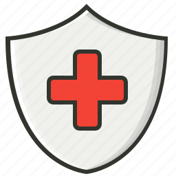 healthcare, insurance, medical aid, protection icon