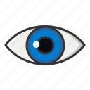 eye, medical, view, visibility, visible, vision, watch icon