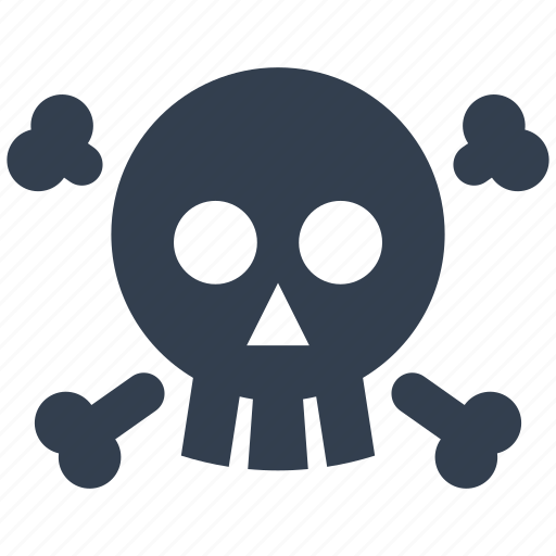 danger, head, healthcare, medical, poison, scull, skeleton, x-ray icon
