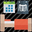 radiology, radioscopy, ribs, spine x ray, x ray icon