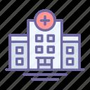 hospital, medical, emergency, building, clinic