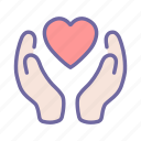 hand, heart, care, love, health, help