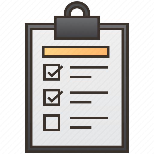 checklist, document, form, report, survey icon