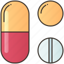 capsule, drug, medicine, pharmacy, pill icon