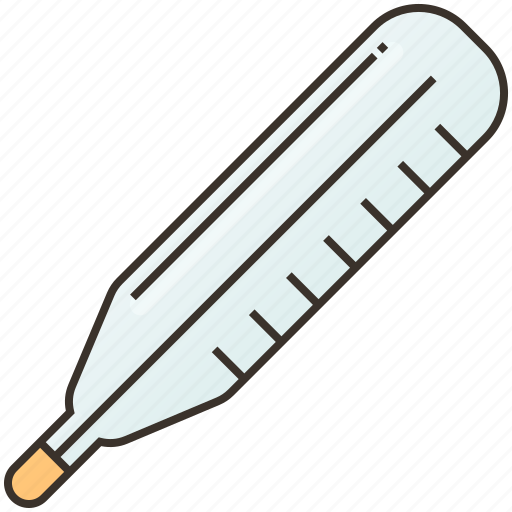 healthcare, hospital, measurement, medical, thermometer icon