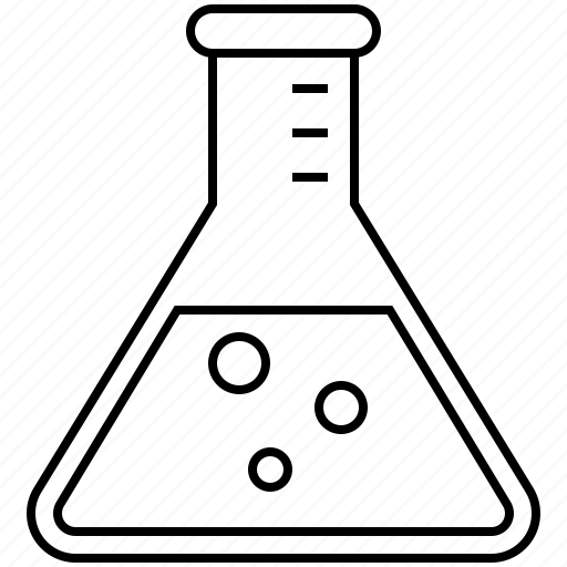 beaker, chemistry, laboratory, research, science icon