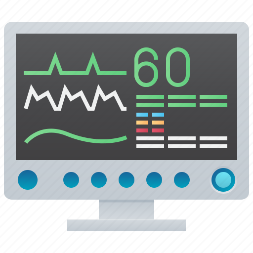 Heart, medical, monitor, pulse, rate icon - Download on Iconfinder