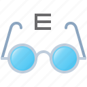 eyeglasses, eyesight, glasses, medicine, vision icon