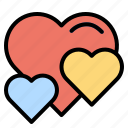 heart, interface, like, lover, loving, peace icon