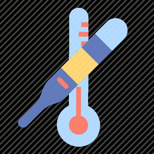 celsius, degrees, fahrenheit, mercury, temperature icon