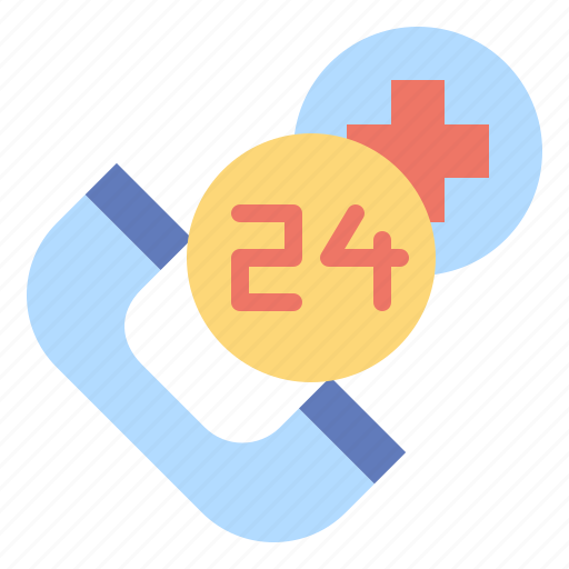 call, customer, hours, service, support icon