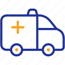 aid, ambulance, emergency, healthcare, hospital, medical, treatment icon