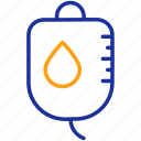 blood, donation, drip, healthcare, hospital, medical, treatment icon