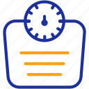 healthcare, machine, measurement, scale, weight icon
