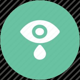 eye, eye tears, human eye, ophthalmologists, visible, vision icon