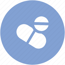 capsule, drugs, medical pills, medications, medicines, pills, tablets, vitamins icon