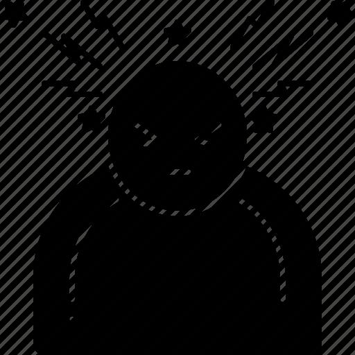 Head, headache, migraine, sick, stress icon - Download on Iconfinder