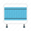 barricade, clinic, curtain, hospital, separator icon