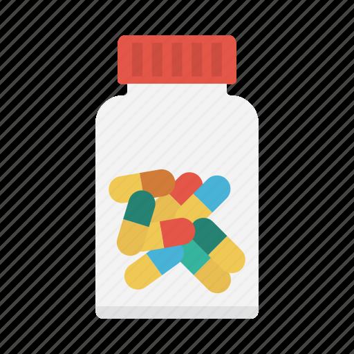 Drugs, jar, medicine, pills, tablets icon - Download on Iconfinder