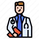 care, doctor, health, medical, physician icon