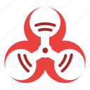biohazard, infection, medical, virus icon